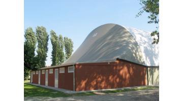 Produzione strutture prefabbricate sportive