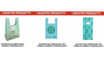 Production of biocomposable shopping bags
