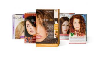 Produzione colorazione permanente capelli mass market