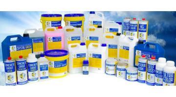 Prodotti chimici per pulizia e manutenzione pavimenti