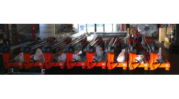Production of marble cutting machines