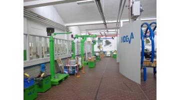 Professional equipment for goods handling