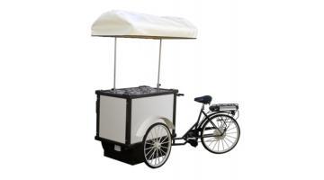 Triciclo vendita gelato