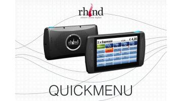 Handheld touch for restaurants and clubs