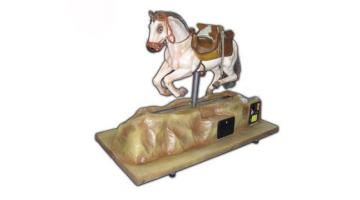 Cavallino in vetroresina