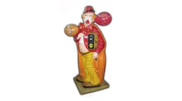 Clown in vetroresina