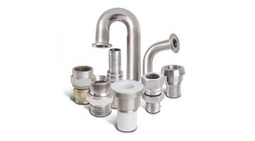 Fittings for the pharmaceutical industry