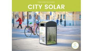 Smart bin per gestione rifiuti