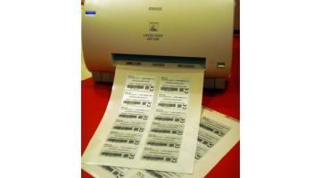 Etichette settore elettronico