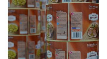 Etichette autoadesive alimentari