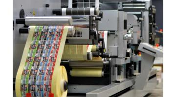 Production self-adhesive labels