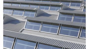 Coperture a shed taglio termico per edifici