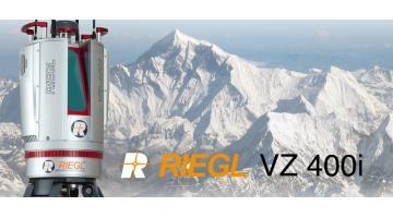 Laser scanner classe 1 a tempo di volo RIEGL VZ400i