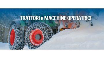 Produzione catene per trattori e macchine operatrici