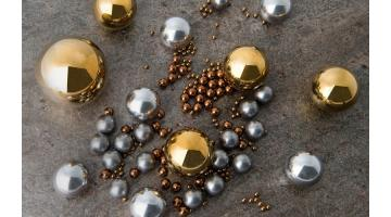 Produzione sfere di precisione in leghe metalliche