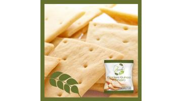 Crackers quinoa e zenzero biologici