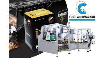 Macchine confezionamento caffè Corti