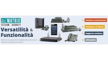 Матричные телекоммуникационные и охранные решения