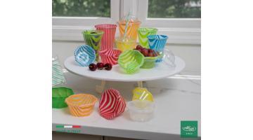 Coppette e bicchieri in plastica per gelateria