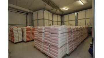 Production of special flours for pizzas