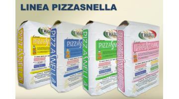 Produzione mix di farine per pizza ad alta resa