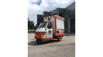 Apecar Piaggio per vendita gelato