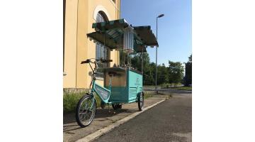 Bici per vendita gelato artigianale
