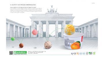 Ice cream cups & City