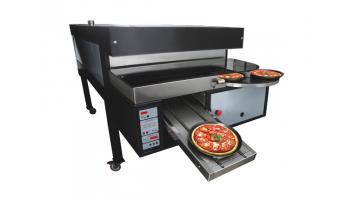 Produzione forno elettrico per pizzeria