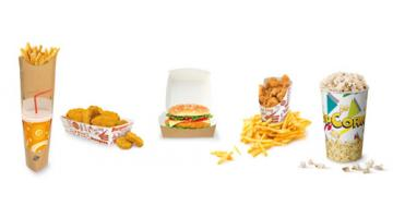 Fast food and take away containers
