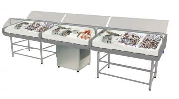 Espositore modulare pesce