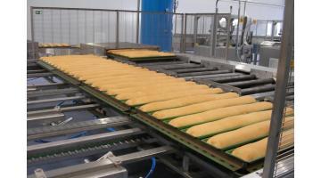 Produzione impianto produzione pane in cassetta