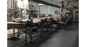 Produzione impianto per grissini e snack