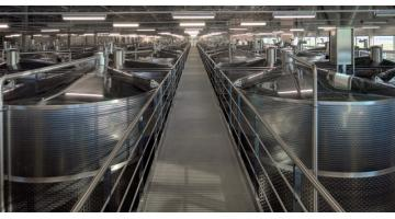 Production of stainless steel winemakers