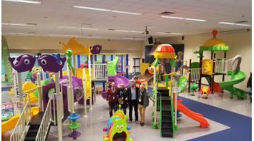 Produzione parco giochi per bambini