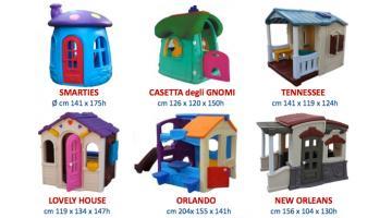 Produzione casette gioco per bambini