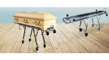 Attrezzature per trasporto cofani funebri