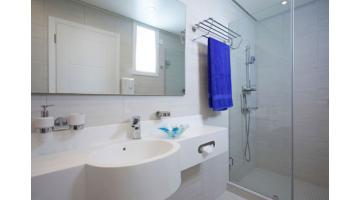Shower panels for hotels