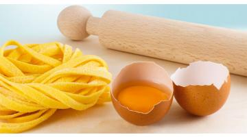 Produzione pasta all'uovo congelata