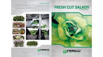 linee complete lavorazione vegetali freschi Fenco