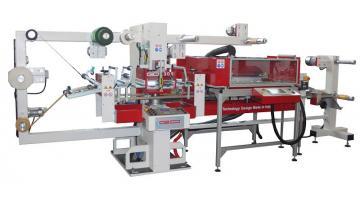 GD PLAS sistema di taglio con fustellatrice piana e plotter laser verticale