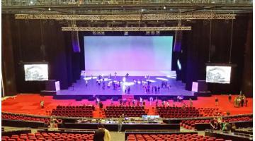 Tre Ti realizza impianti per auditorium con illuminatori di aziende leader del settore