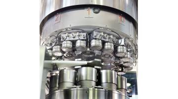 Zilli&Bellini aggraffatrice automatica a dieci teste per prodotti alimentari solidi