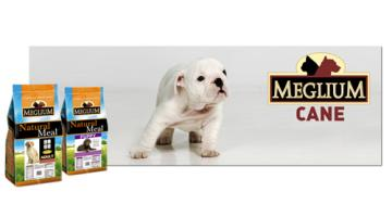 Dry dog food puppies