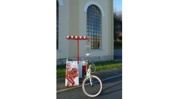Bici per vendita ambulante gelato