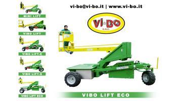Carro per raccolta frutta in piantagione Vibo Lift Eco