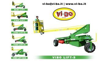 Carro raccolta frutta in tutte le piantagioni Vibo Lift S