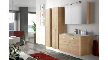 Oak bathroom furniture