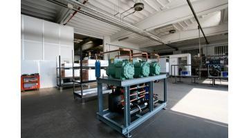 Produzione impianti frigoriferi per l'industria alimentare