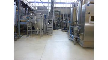 Floors for the food industry
